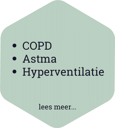 COPD Astma Hyperventilatie