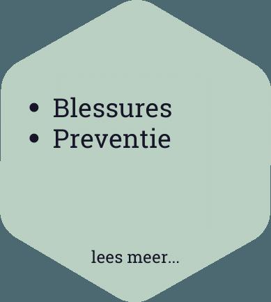 blessures preventie